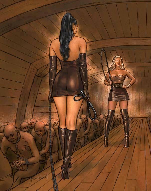 galera z niewolnikami